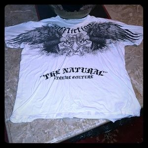 "Mens Affliction ""Randy Coutuce"" Graphic Tee"